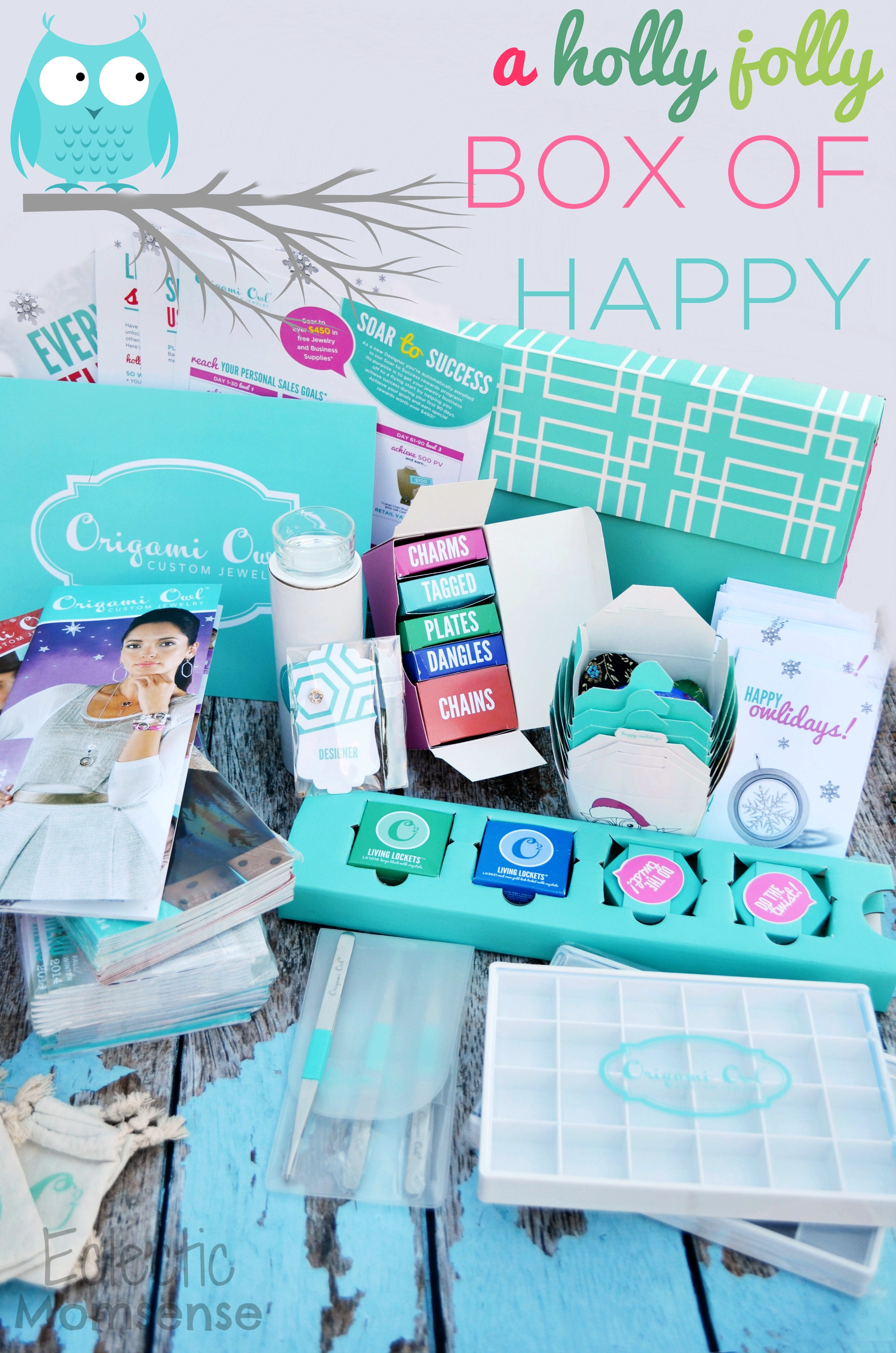 Origami owl unboxing a holly jolly box of happy eclectic momsense origami owl unboxing the holly jolly box of happy o2journey origamiowl jeuxipadfo Images