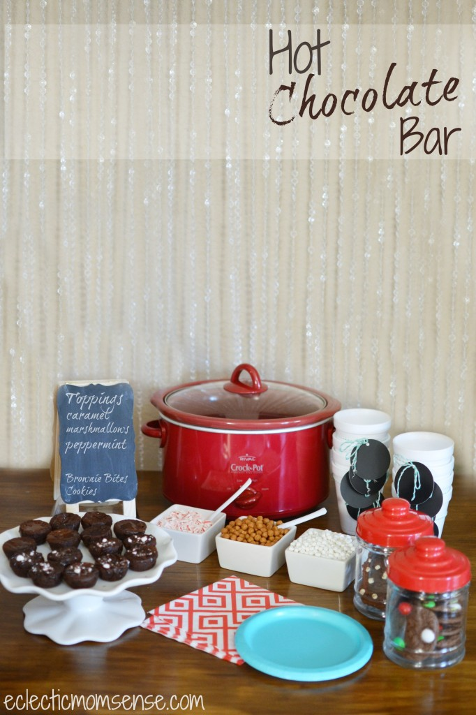 Hot Chocolate Dessert Bar