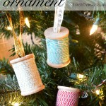 Thread Spool Ornament