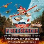 My Everyday Heroes: Disney Planes Fire & Rescue on Blu-ray Combo Pack and Digital HD Nov 4