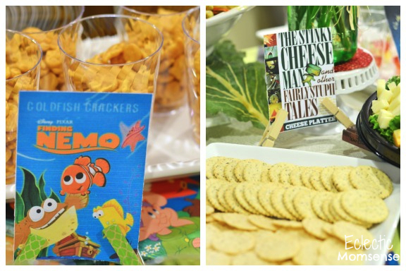 Storybook Baby Shower Food Ideas #party #babyshower