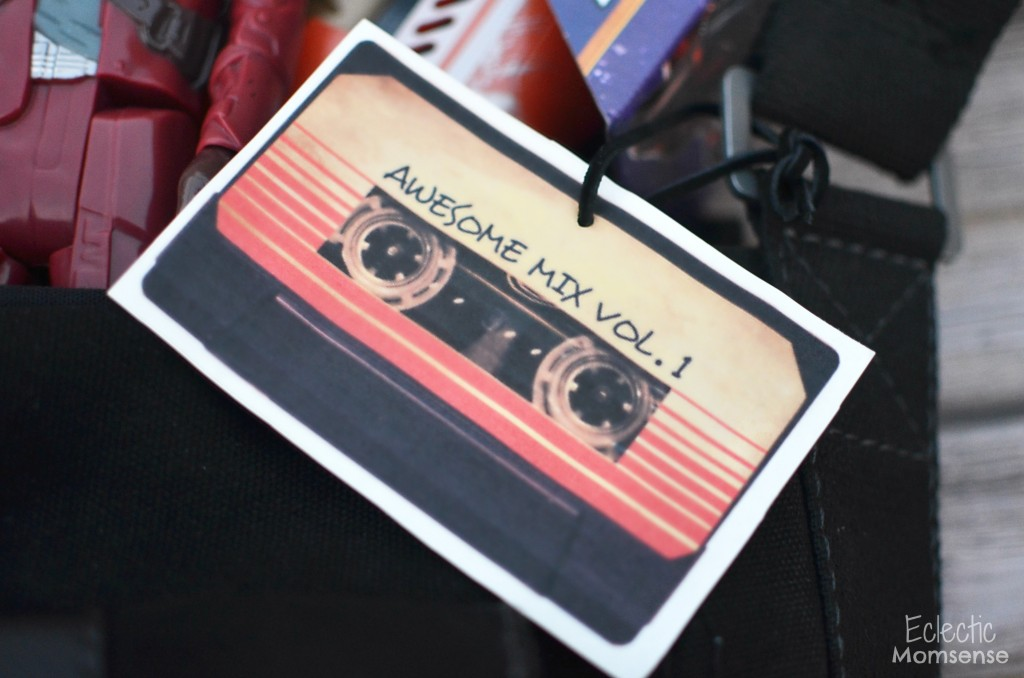 Awesome Mix vol. 1 gift tag #OwnTheGalaxy #shop #cbias