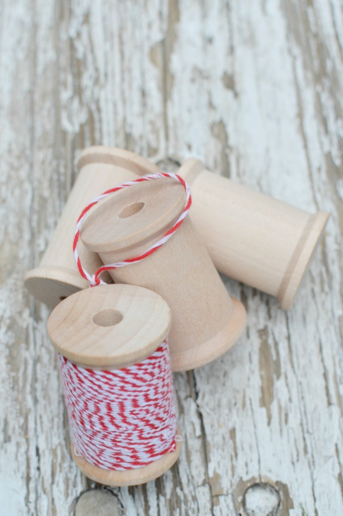 Thread Spool Ornament #craft #christmas #ornament #handmade