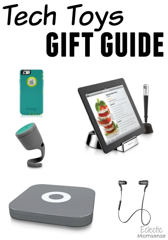 Tech Toys Gift Guide #ad