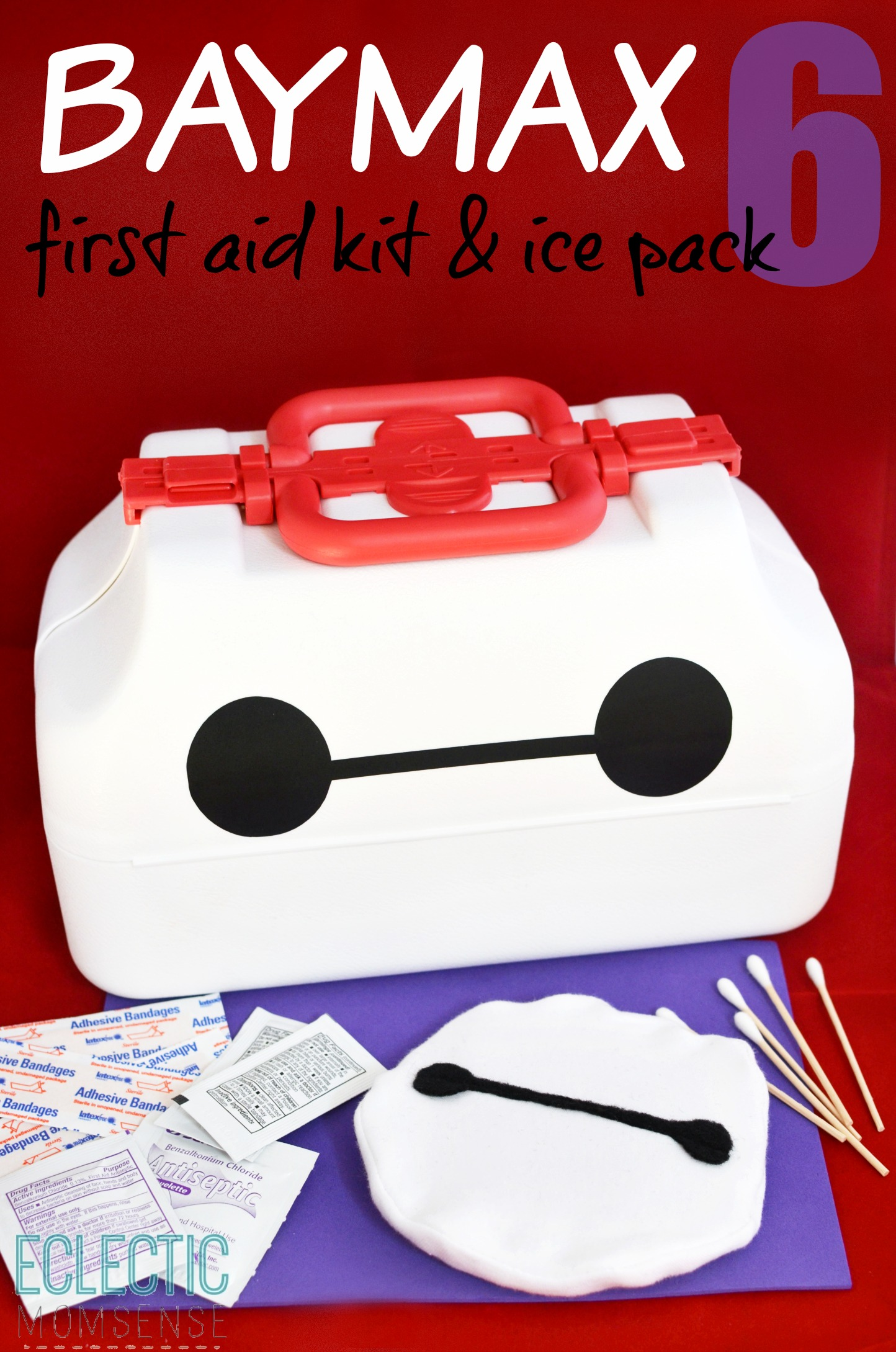16084567110 Big Hero 6  Baymax First Aid Kit   Ice Pack - Eclectic Momsense