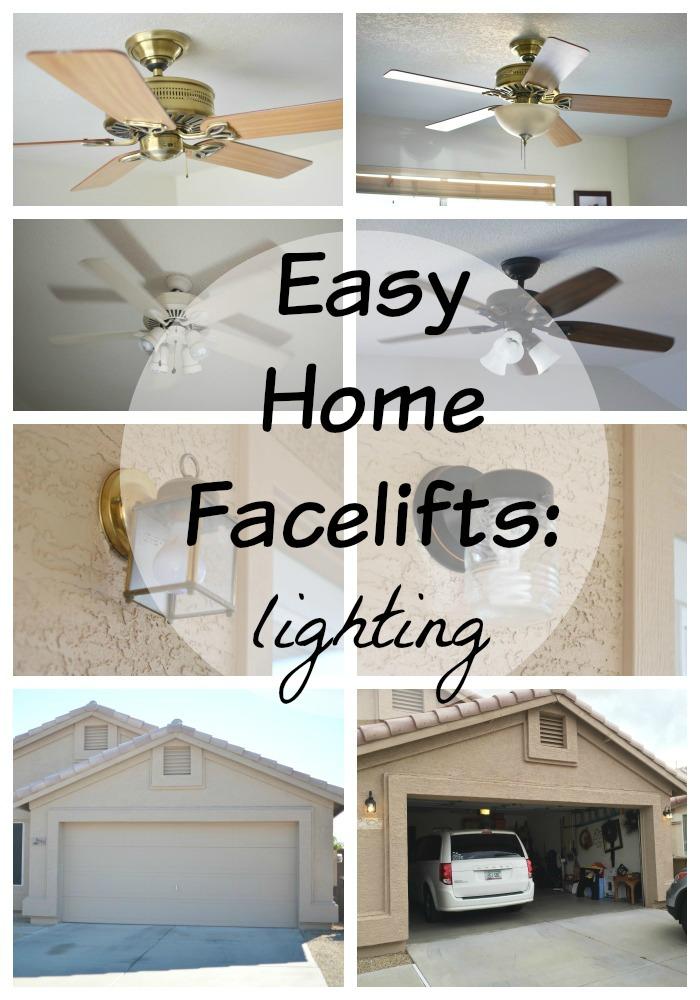 Easy Home Lighting Updates #ad