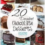 20 Chocolate Desserts for Valentines Day
