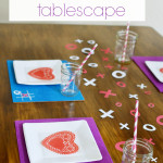 DIY Valentine's Tablescape