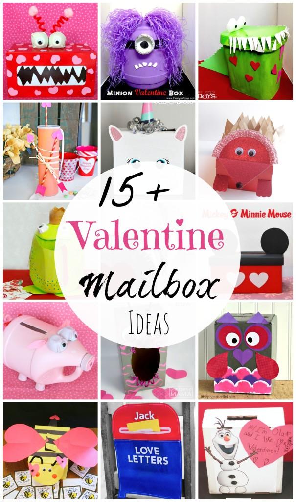 Valentine Mailbox Ideas