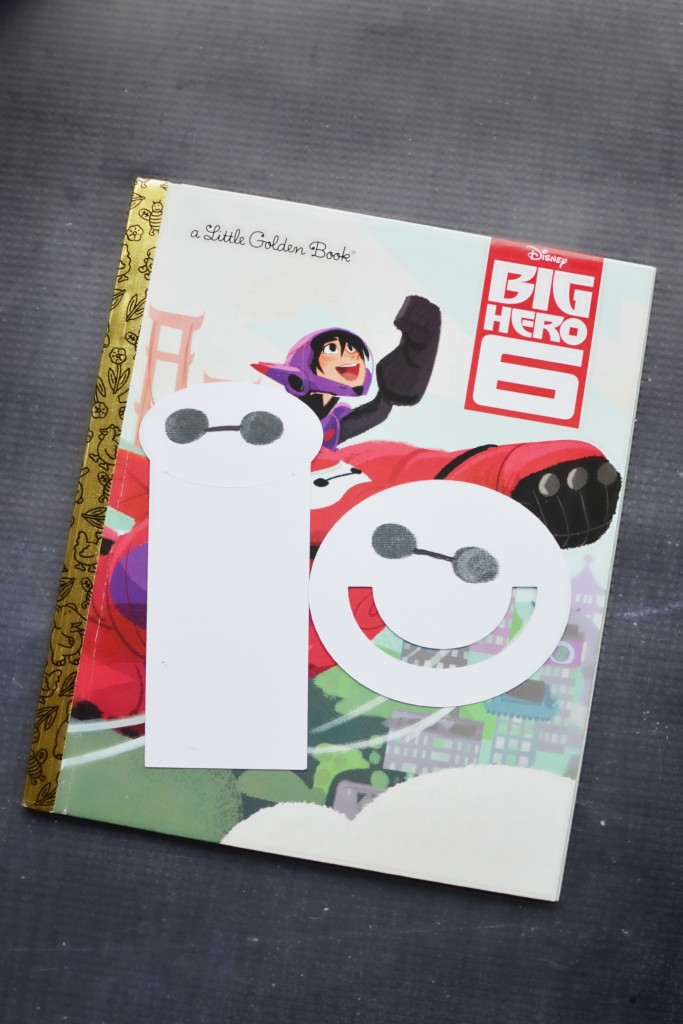 Baymax bookmark