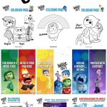 DISNEY•PIXAR Inside Out Activity Sheets