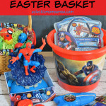 Marvel Easter Basket and DIY AvengerS Fillable Eggs