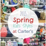 2015 Spring Kid's Styles at Carter's