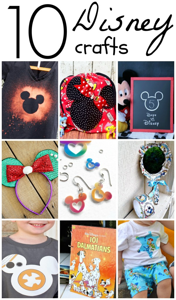 10 Disney Crafts|Eclectic Momsense #crafts #Disney