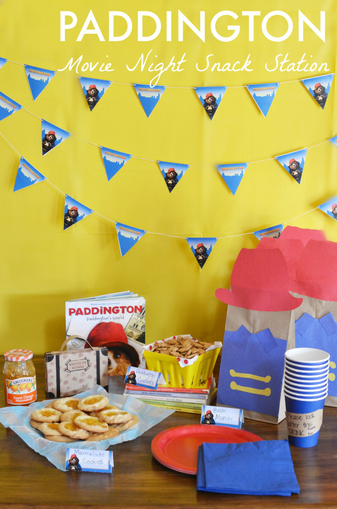 Paddington Movie Night #PaddingtonMovie #ad
