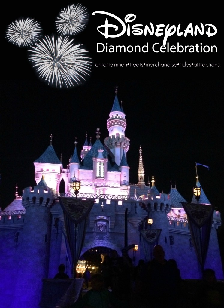 Disneyland's Diamond Celebration begins May 22nd.  New attractions, food, entertainment, and products will be available.  Enjoy listening to Walt's opening day speech! #Disneyland60