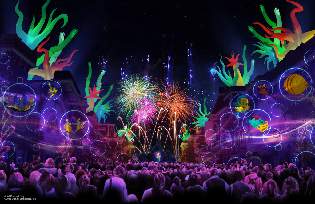 'Disneyland Forever' is one of three new nighttime spectaculars which will immerse guests in the worlds of Disney stories like never before. The Diamond Celebration at the Disneyland Resort begins Friday, May 22,. #disneyland60