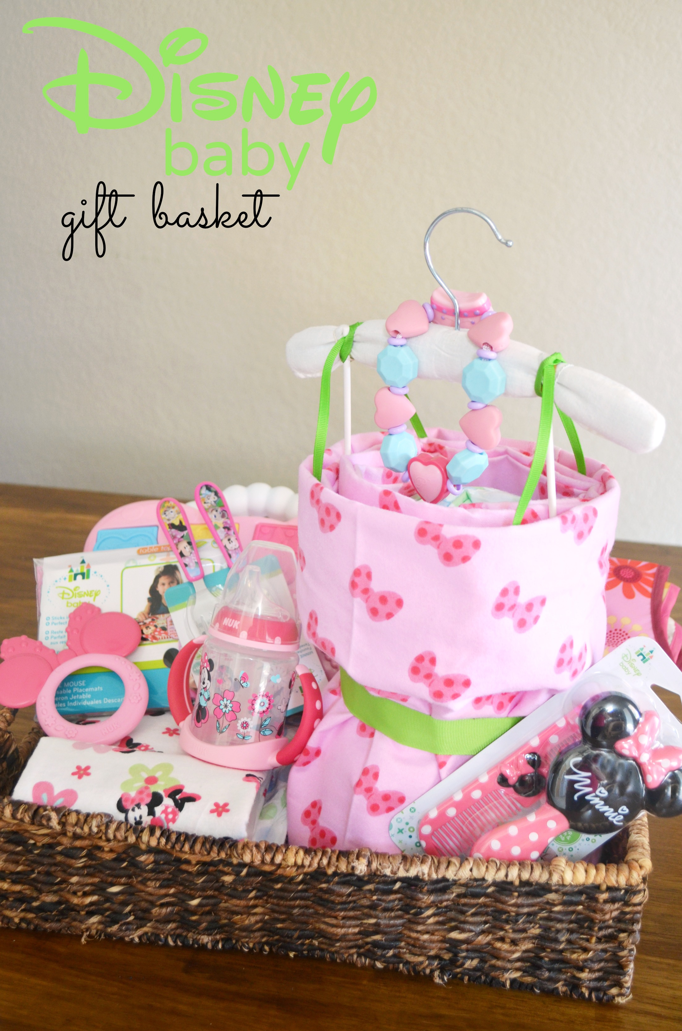 Princess Diaper Cake Creating The Perfect Disney Baby Gift Basket Walmart Ad