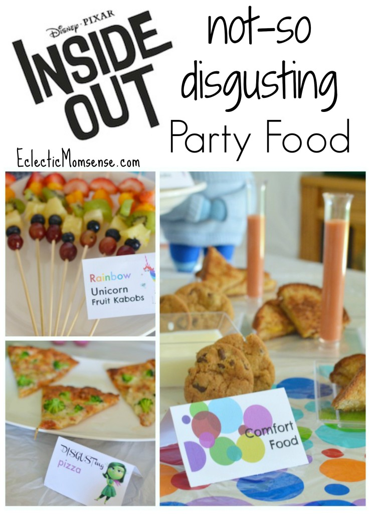 Disney PIXAR Inside Out Party Food #InsideOutEmotions ad