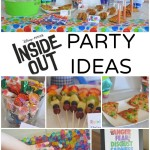 Disney PIXAR Inside Out Party Ideas #InsideOutEmotions ad