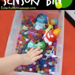 INSIDE OUT Water Bead Sensory Bin