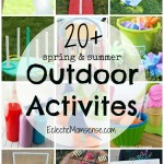 20+ Spring and Summer Outdoor Activities for Kids