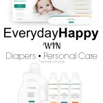 Everyday Happy #Giveaway| Natural Care Products for Baby & Home [ad]