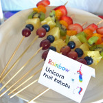 Inside Out party food menu + FREE printable food tent #InsideOut #Disney #Pixar