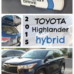 Family Friendly 2015 Toyota Highlander Hybrid