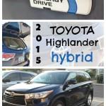 Family Friendly 2015 Toyota Highlander Hybrid