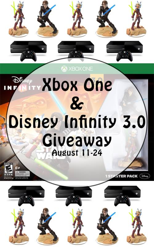Disney Infinity 3.0 #Giveaway | Enter for your chance to win big.  One winner takes home an Xbox One & Disney Infinity 3.0