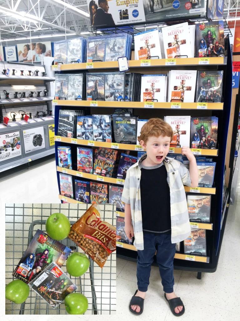 #Disney Descendants, NOW on DVD @Walmart. #VillainDescendants. Plus a recipe for Rotten to the Core caramel apples