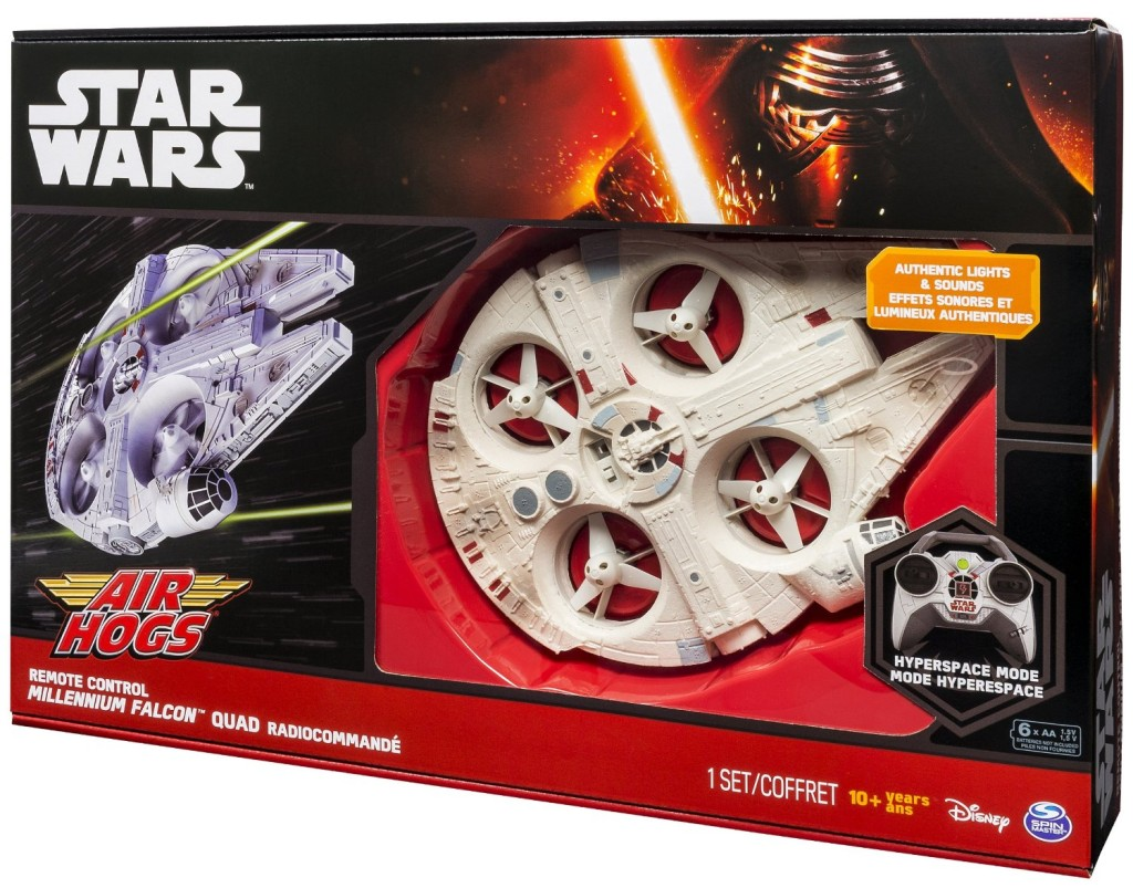 RC Millenium Falcon |The Best #StarWars #ForceFriday Finds! + Enter to #win a Sphero BB8