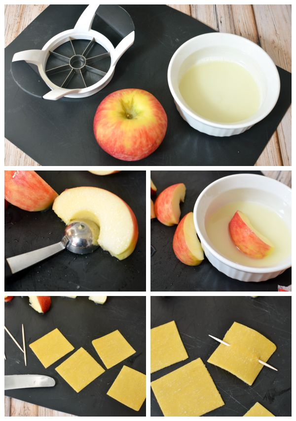 Pirate Ship Apple Snacks | #talklikeapirateday #piratebooty [ad]