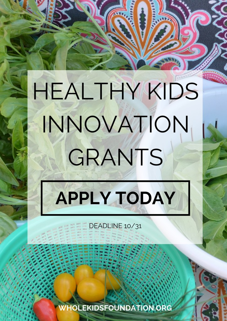 Healthy Kids Innovation Grants | Grant Program to Promote Children's Health and Nutrition