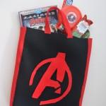 Avengers Felt Trick or Treat Bag #AvengersUnite #Halloween