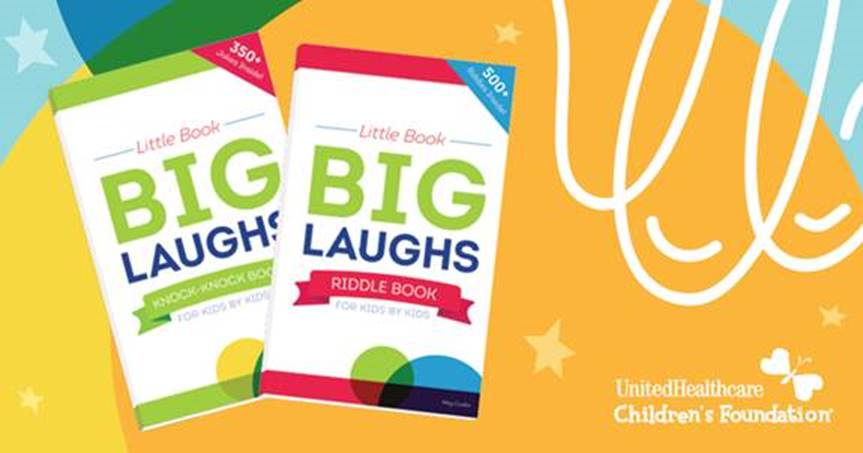 NEW Children's Joke Books Raise Funds to Help Families Pay for Child Medical Expenses #sponsored