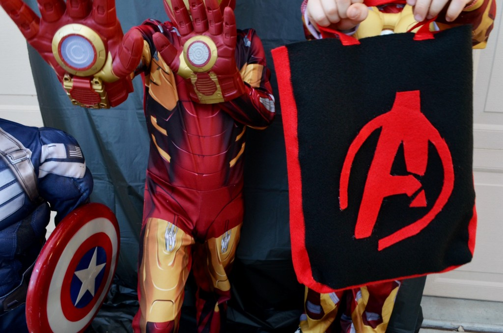 The Avengers: Age of Ultron Felt Trick or Treat Bag