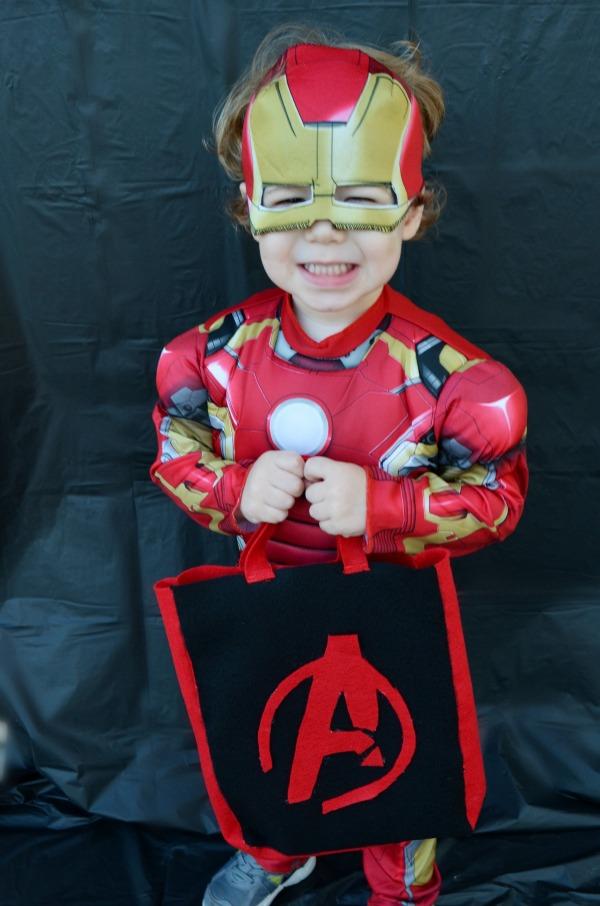 The Avengers: Age of Ultron Felt Trick or Treat Bag