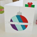 Easy Washi Tape Holiday Cards