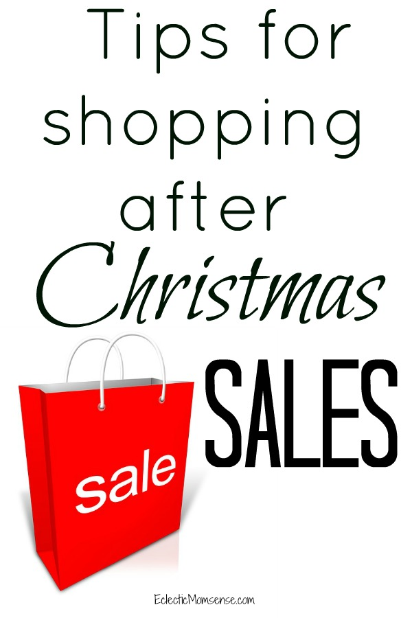 Make the Most of After Christmas Sales - Stock up, save, and shop smart!