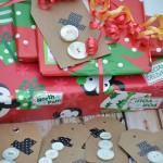 Button Snowman Gift Tags
