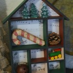 DIY Holiday Shadow Box