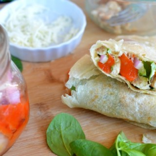 Italian Grilled Chicken Wrap