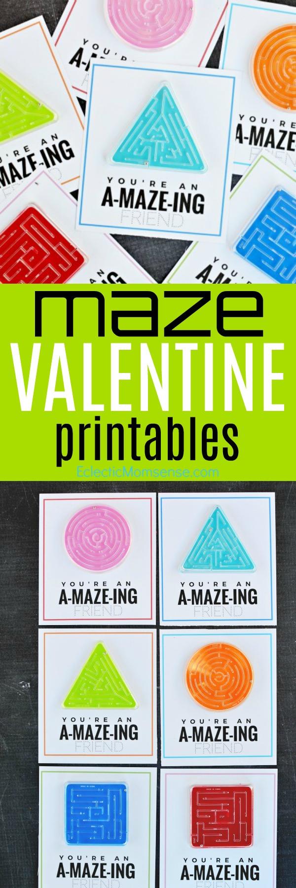 maze valentines