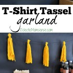 DIY T-Shirt Tassel Garland