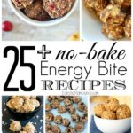 25+ No-Bake Energy Bite Recipes