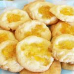 Orange Marmalade Thumbprint Cookies