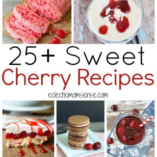 25+ Cherry Recipes | roundup of classic and creative cherry recipes.