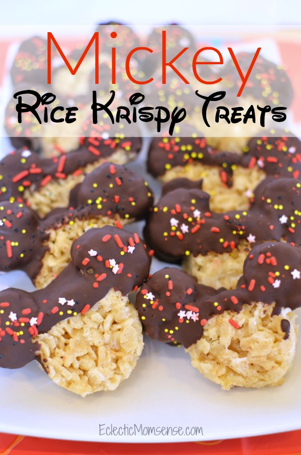 Disney Copycat Mickey Rice Krispy Treats Recipe